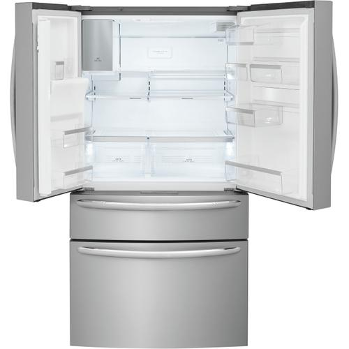 Frigidaire Gallery 21.4 Cu. Ft. Counter-Depth 4-Door French Door Refrigerator