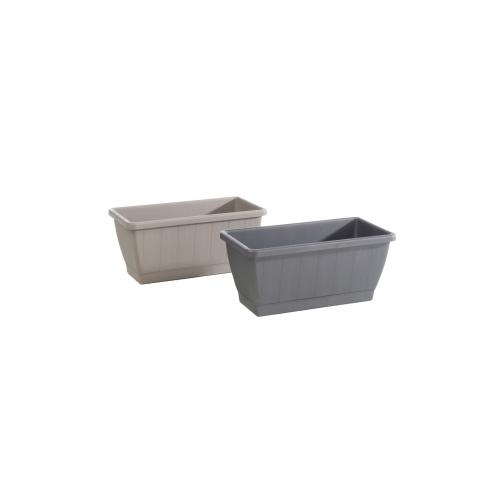Kezar Plant Box w/ attached oblong tray, Small