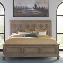 King Opt Panel Bed