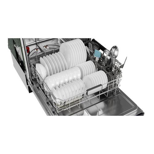 Sharp - Sharp 24 in. Slide-In Stainless Steel Dishwasher