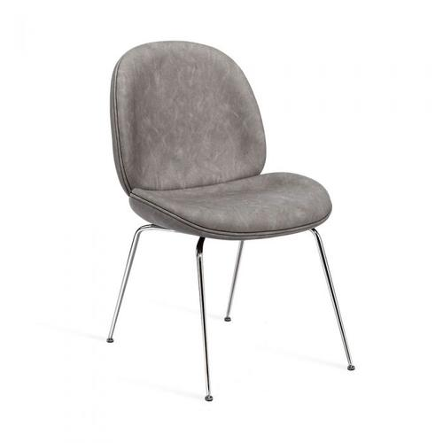 Luna Dining Chair - Distressed Charcoal