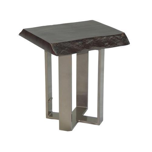 """Castelle - 16"""" Moderna Square Side Table"""