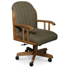 See Details - Kelsey Arm Desk Chair, Fabric Cushion Seat