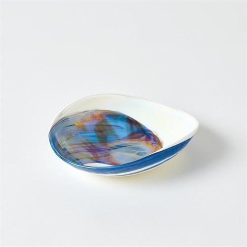 Ocean Swirl Bowl-Lg