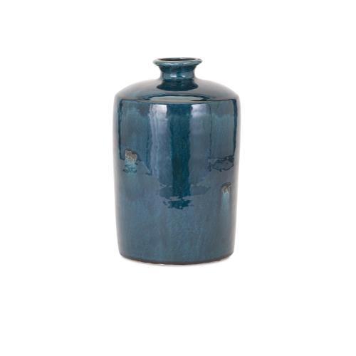 Imax Corporation - Arlo Medium Blue Vase