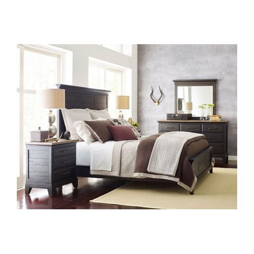 Jessup Panel Queen Bed - Complete