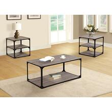 Lunete 3pc Coffee Table Set