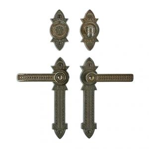 """Briggs Entry Set - 2 3/8"""" x 10"""" Silicon Bronze Brushed Product Image"""