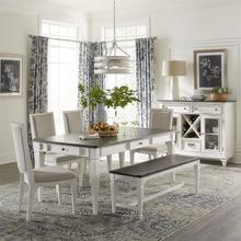 Alternate 6 Piece Rectangular Table Set