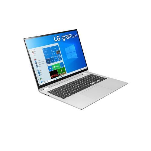 LG - LG gram 16'' 2-in-1 Ultra-Lightweight Laptop with Intel® Evo 11th Gen Intel® Core™ i7 Processor and Iris® Xe Graphics