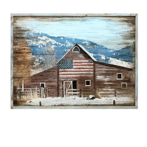Crestview Collections - Patriot Barn