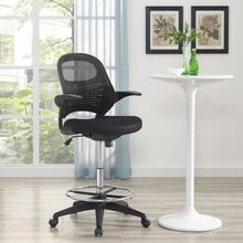See Details - Stealth Drafting Chair in Black