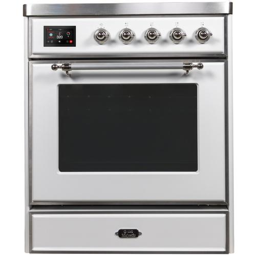 30 Inch White Electric Freestanding Range