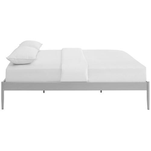 Elsie King Bed Frame in Gray