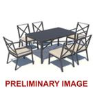 Outdoor Metal Dining Table Product Image