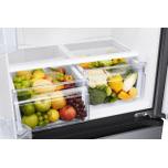 Samsung Appliances 18 cu. ft. Smart Counter Depth 3-Door French Door Refrigerator in Black Stainless Steel