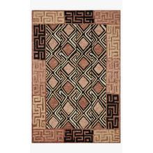 View Product - NAL-06 Rose / Black Rug