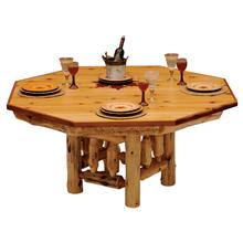 Poker Table Cover - 8-sided - Natural Cedar - Armor Finish