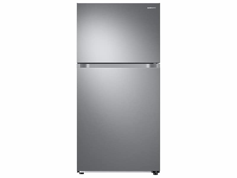 Samsung21 Cu. Ft. Top Freezer Refrigerator With Flexzone™ And Ice Maker In Stainless Steel