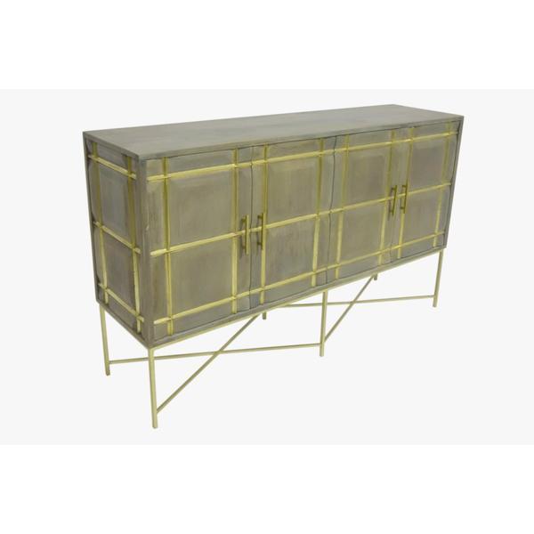 See Details - Mondrian 4 Door Cabinet, 2611J