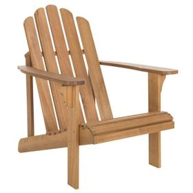 Topher Adirondack Chair - Natural