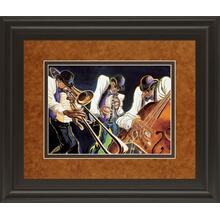 """""""Jamming"""" By Steven Johnson Framed Print Wall Art"""