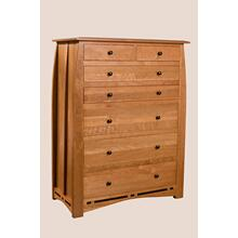 Seven Drawer Chest - 42W x 22D x 57H