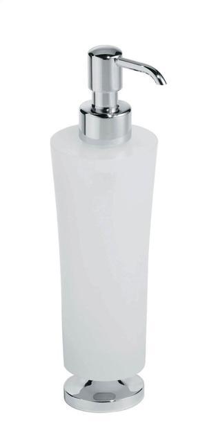 Silaro Free Standing Dispenser Brushed Nickel Product Image
