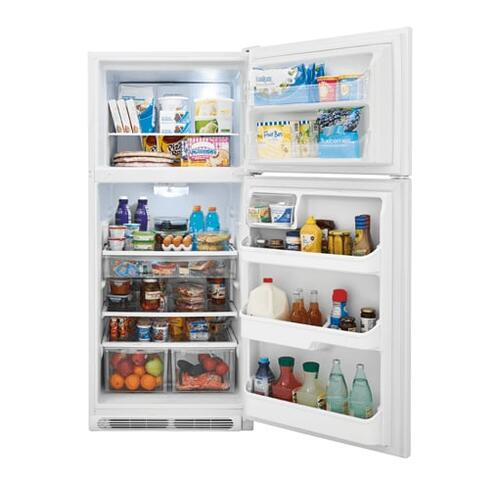 Gallery - Frigidaire Gallery 20.4 Cu. Ft. Top Freezer Refrigerator