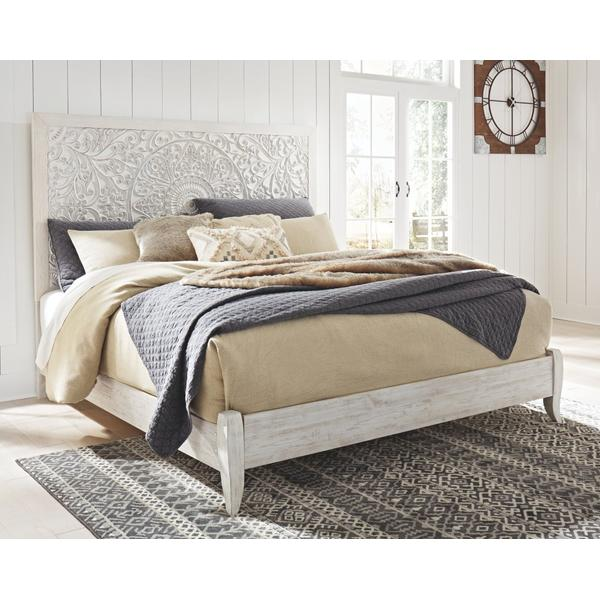 Paxberry King Panel Bed