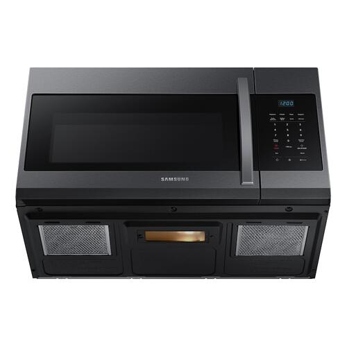 1.7 cu. ft. Over-the-Range Microwave in Black Stainless Steel