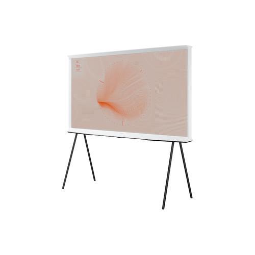 "Samsung - 55"" Class The Serif QLED Smart 4K UHD TV - White (2019)"