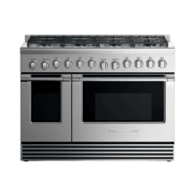 "Gas Range, 48"", 8 Burners, LPG"