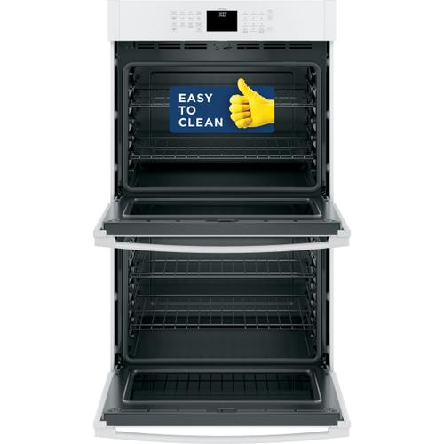 """GE Appliances - GE® 30"""" Smart Built-In Self-Clean Double Wall Oven with Never-Scrub Racks"""