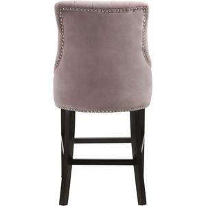 "Oxford Velvet Counter Stool - 19.5"" W x 20.5"" D x 40"" H"