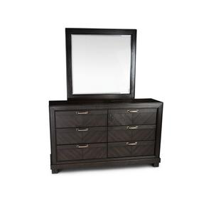 Montana Dresser/Mirror, Brown
