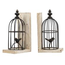 S/2 Birdcage Bookends