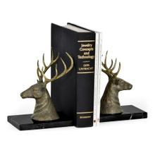 A fair of deer bookends