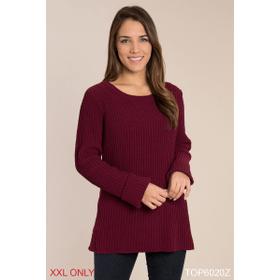 Chunky Knit Sweater - XXL (2 pc. ppk.)