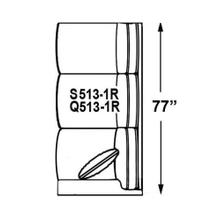 View Product - Sectional Component-One Arm Sofa