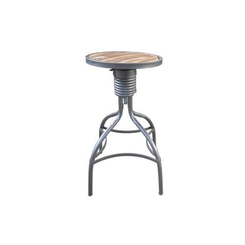 "Emerald Home D103-24 Laurell Hill 24"" Bar Stool, Patina Gray"