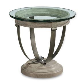 Arch Salvage Moss Lamp Table Mist