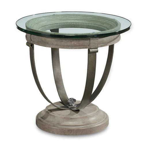 A.R.T. Furniture - Arch Salvage Moss Lamp Table Mist