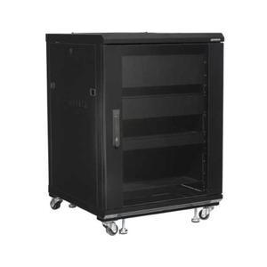 """Sanus34"""" Tall AV Rack 15U Component rack for home theater equipment"""