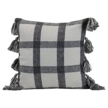 See Details - 18x18 Hand Woven Jackie Pillow Black