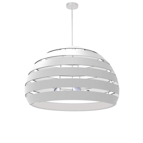 4lt Chandelier Mw, Wh Shade
