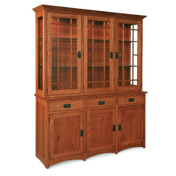 """See Details - Prairie Mission Closed Hutch, 61 """", 19"""" Base"""