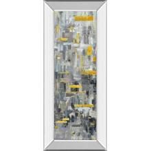 """Reflections Il"" By Danhui Nai Mirror Framed Print Wall Art"