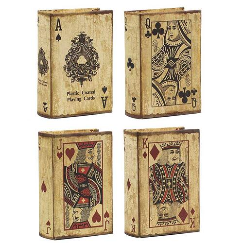 A & B Home - S/4 Book Boxes
