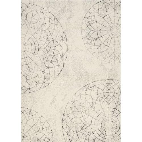 Safi 7152 White Grey 8 x 11